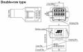 J21DPM-06V-KX - JST