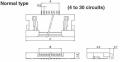 06FLH-SM1-TB(LF)(SN) - JST