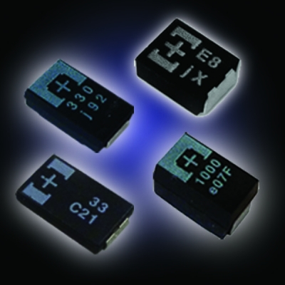 NIC Components: Five New Solid Polymer-Tantalum Capacitor Series